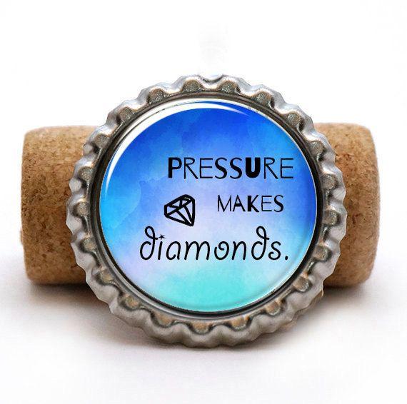 Pressure makes diamonds General George S. Patton by Videnda