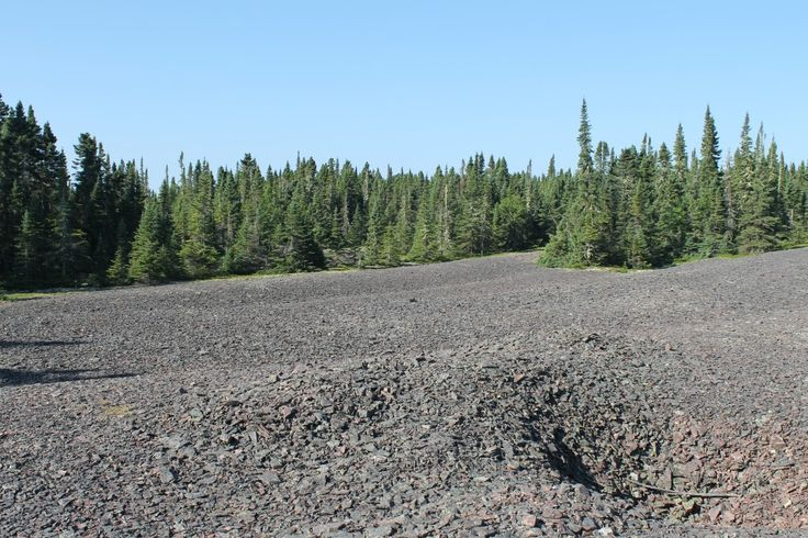 shale, bowman island