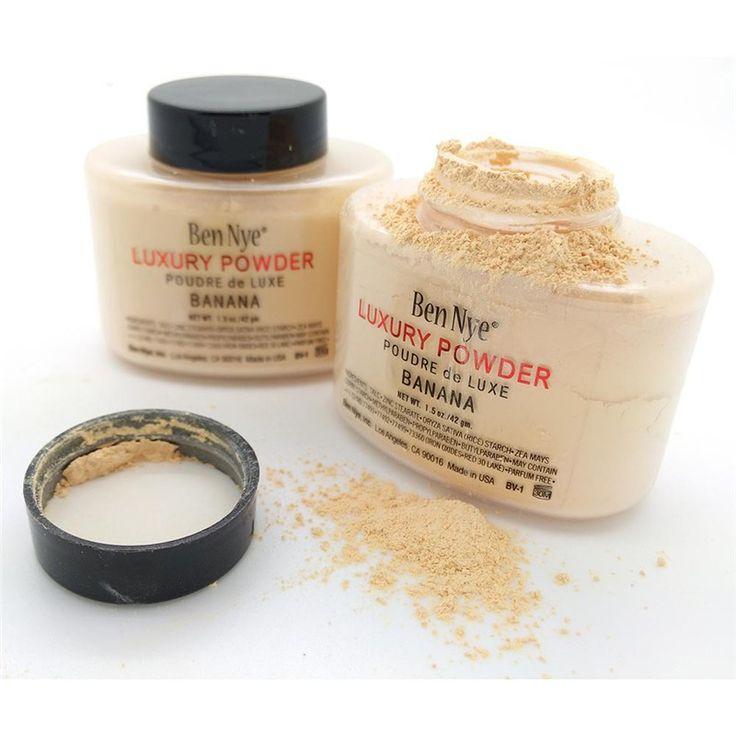 Ben Nye Ben Nye Banana Powder Luxury Banana natural face loose powder 42g/85g Banana brighten long-lasting powder BH336M