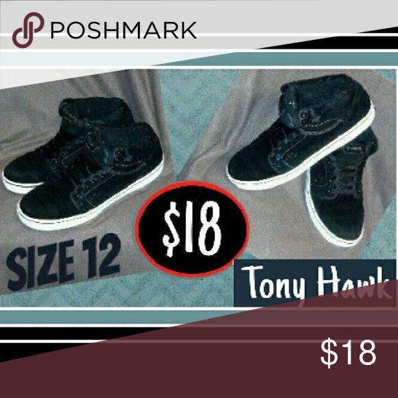 Tony Hawk - Men's Skate Shoe's Size 12, Black, excellent cond., low price Tony Hawk Shoes Sneakers