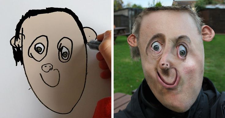Dad Turns His 6-Year-Old Son's Drawings Into Reality And The Results Are Both Creepy And Hilarious (10+ Pics) https://plus.google.com/+KevinGreenFixedOpsGenius/posts/TuEadNChGtP