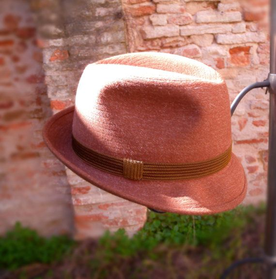 PAnizza hat of 1970s. Check out this item in my Etsy shop https://www.etsy.com/listing/277152274/panizza-hat-vintage-1970s-light-brown