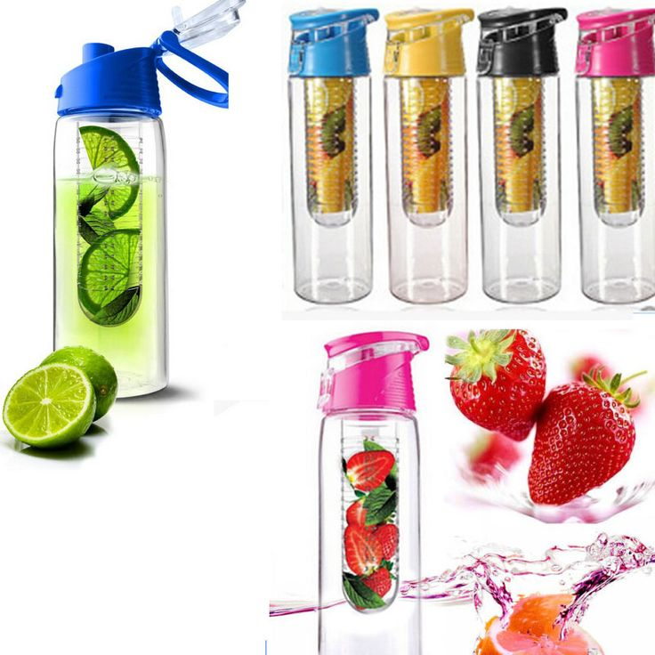 Cheap water bottle, Buy Quality juice lids directly from China fruit infuser Suppliers:  Free Shipping 800ML Sports Bicycle Health Fruit Infusing Infuser Lemon Juice Lid Water Bottle  100% High quality &