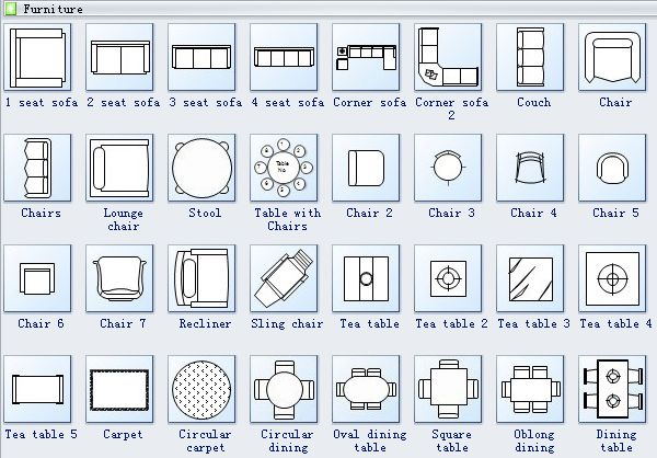 Floor Plan Symbols 2 Regina House Pinterest