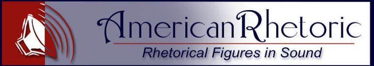 American Rhetoric: Rhetorical Devices in Sound