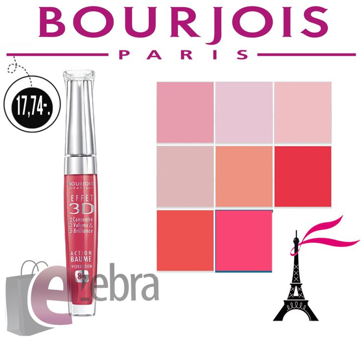 Idealnym wykończeniem makijażu jest odpowiednio dobrany kosmetyk do ust. Z tym zadaniem cudownie radzą sobie nawilżające błyszczyki Bourjois z efektem 3D   Sprawdźcie jaką przygotowaliśmy dla Was gamę kolorów tego kosmetyku. Na pewno znajdziecie idealny dla siebie odcień!   http://ezebra.pl/product-pol-17536-BOURJOIS-EFFET-3D-BLYSZCZYK-56-ROSE-DYNAMIC.html #makeup #makijaż #błyszczykdoust #lips #bourjois