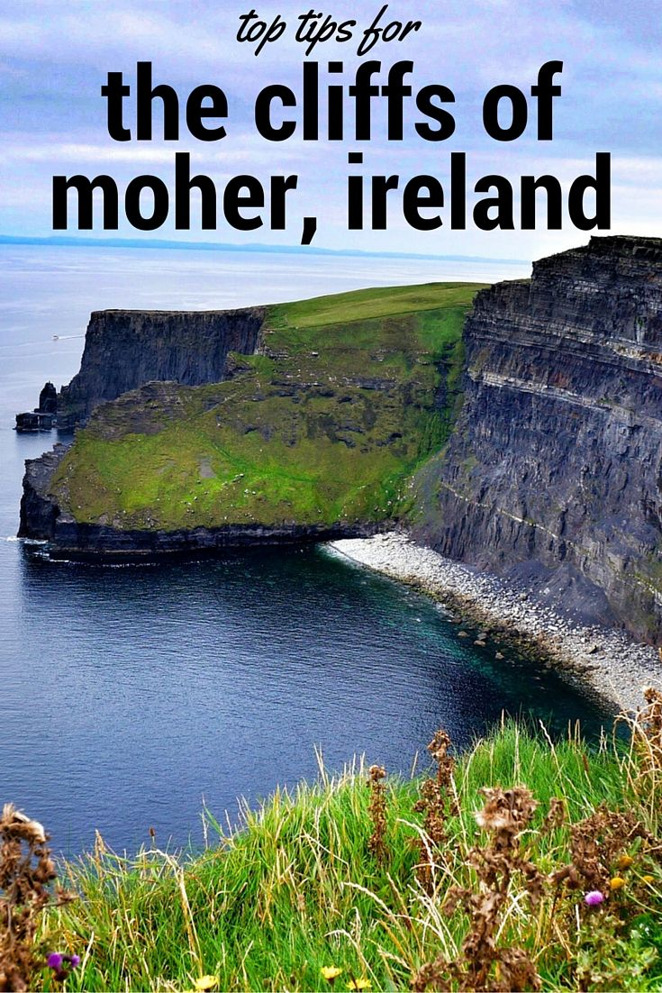 Top Tips for Visiting the Cliffs of Moher in Ireland. Click the pin to read the post from www.flirtingwiththeglobe.com