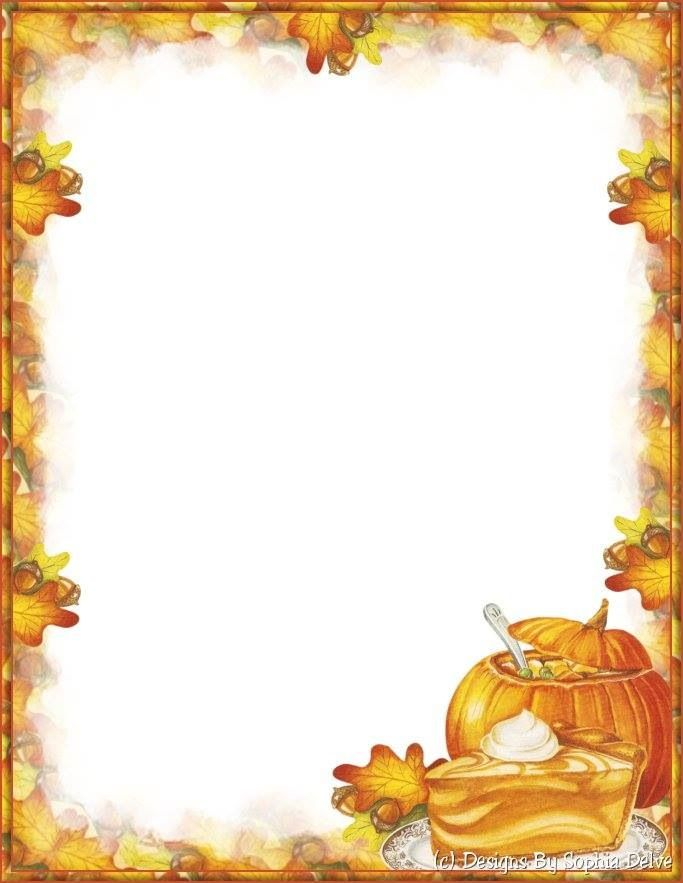 f91df836710d9d100a4eb5a5e097b1d4 Fall Letter Border Templates on fall flag letter head, fall stationery border templates, fall letter head graphics,