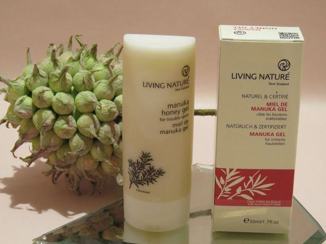 LIVING NATURE Manuka Gel - Erfahrungen - Testgitte70 Blog über Naturkosmetik, Lifestyle und Genuss