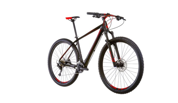 Cube Reaction GTC 2x MTB Hardtail röd/svart - till fenomenalt pris på Bikester