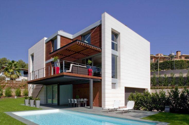 Fachadas ventiladas sistema masa vivienda unifamiliar - Fachadas viviendas unifamiliares ...
