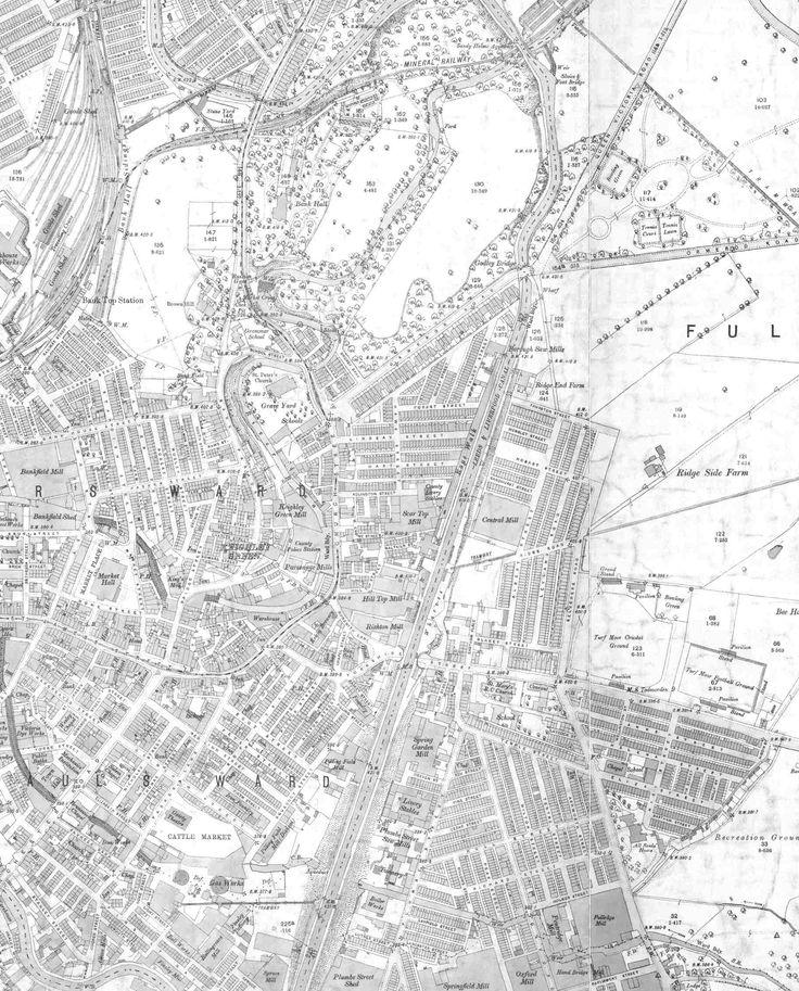 Keighley Green, Bank Top, Fulledge &c.. Burnley
