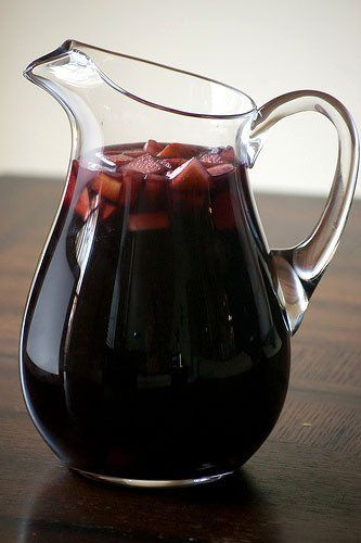 Perfect for Thanksgiving: 5 Fall Sangrias | Glass Pitchers: http://www.foodservicewarehouse.com/pitchers-glass/c3124_2874-806.aspx?utm_source=social&utm_medium=pinterest&utm_campaign=site