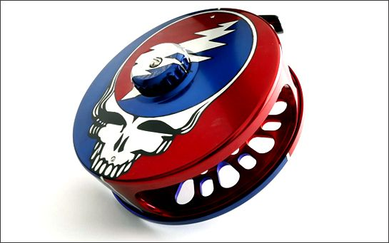 "Check Out Abel's ""Steal Your Face"" Grateful Dead Fly Reel"