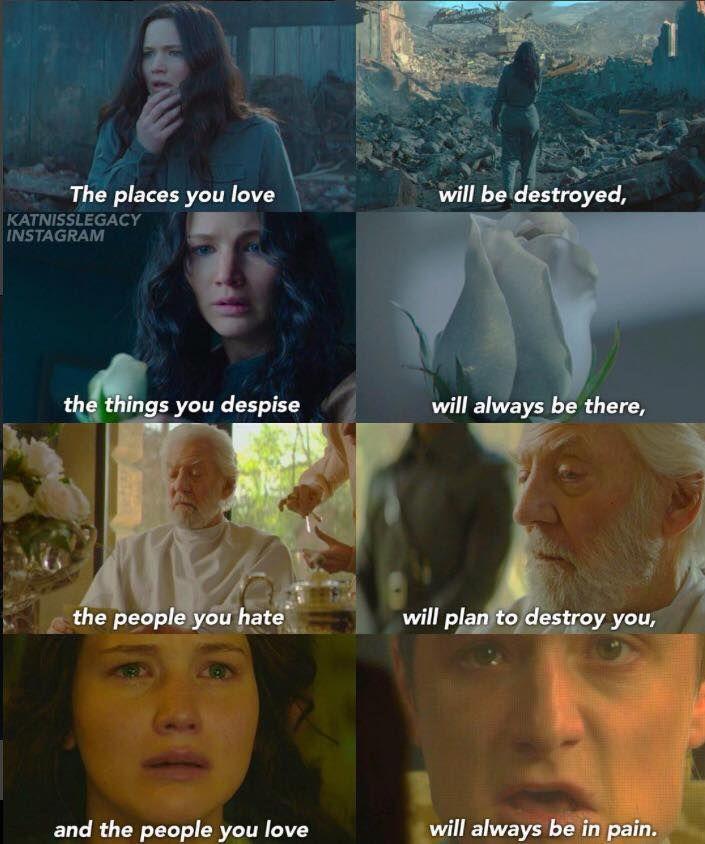 The Hunger Games Igrzyska Śmierci Mockingjay Kosogłos Katniss peeta snow