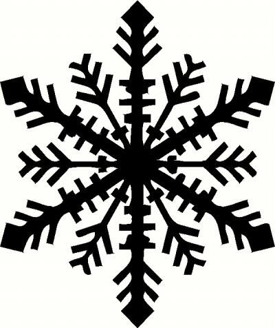 Snowflake Vinyl Decal | Christmas Vinyl Decals