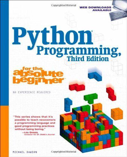 michael dawson python programming for the absolute beginner pdf