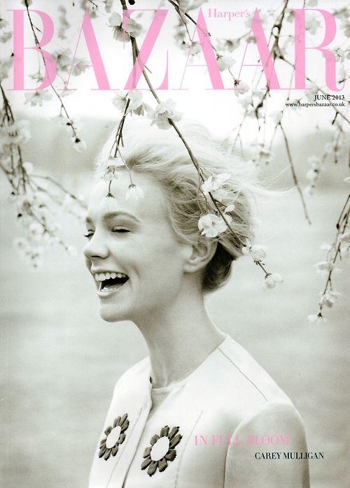 Carey Mulligan... love love love this cover!