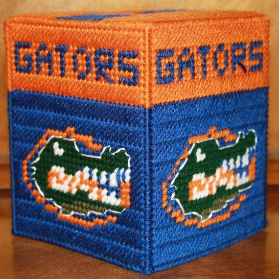 3250 Florida State Gators Tissue Box Cover by CraftsbyRandC, $12.95
