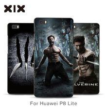 2016 moda de luxo do telefone móvel fundas para huawei telefone Os x-men wolverine pc de volta caso capa para huawei p8 lite promoção(China (Mainland))