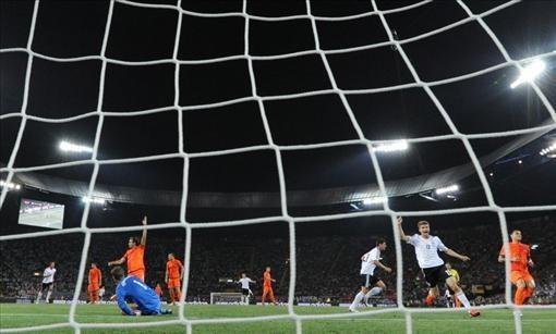Euro 2012 Germany - Holland group B match