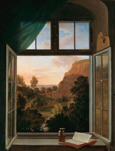 Carl Ludwig Kaaz (German, 1773 - 1810) - View from Grassi's Villa toward the Plauensche Grund near Dresden