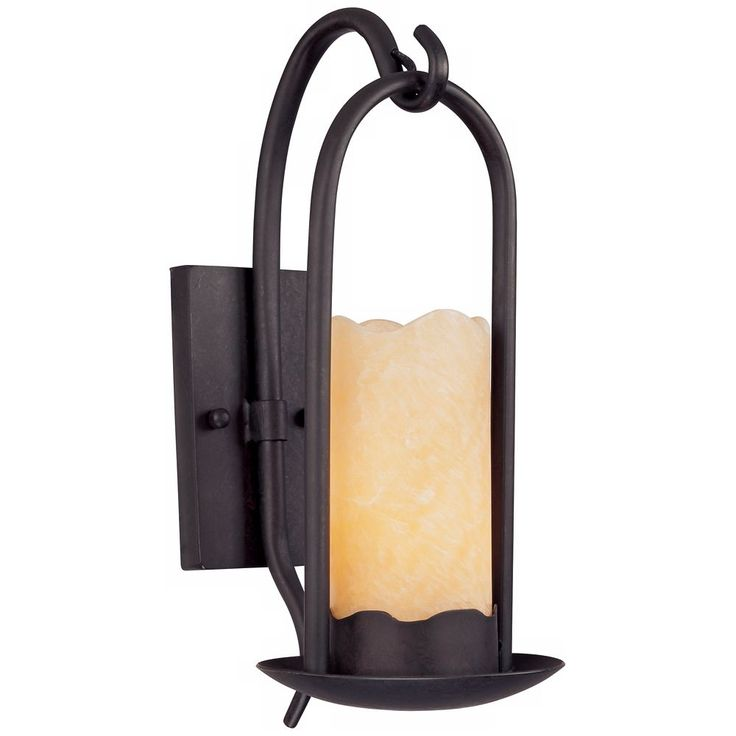 Hanging Onyx Faux Candle Wall Sconce - Style # 51685