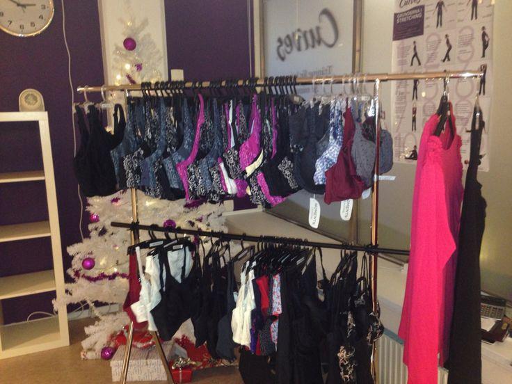Boutique mvhservice på gymet 2014 i dec
