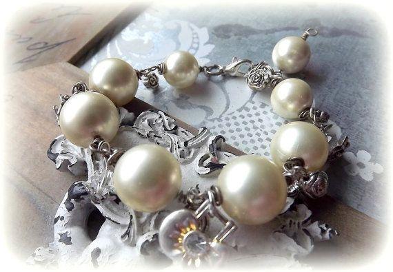 Jewelry Bracelet Pearl Bracelet Bracelet-style by AcoyaJewellery