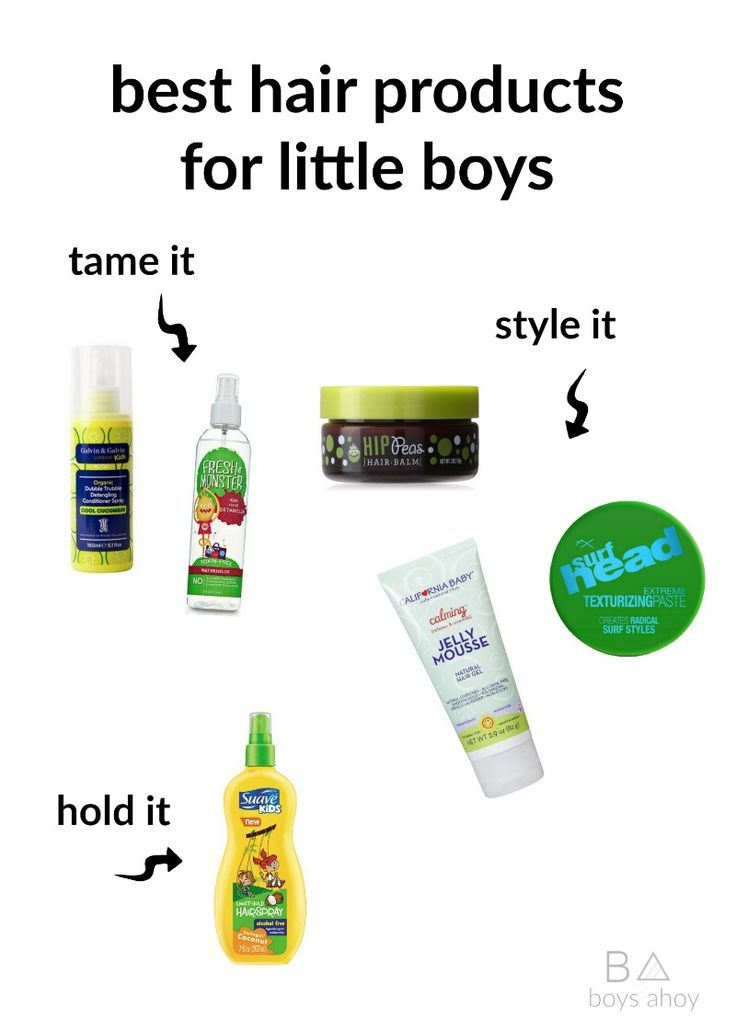 quick tips plus favorite products for styling little boys hair and bed head in the mornings!