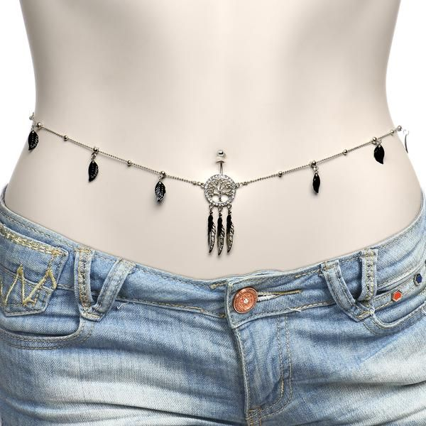 Belly Chain Tattoo