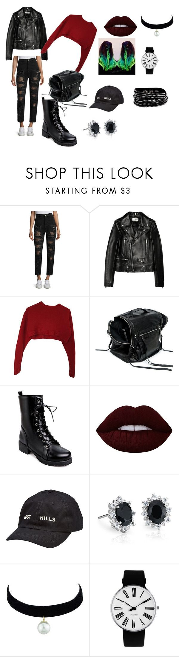 """""""Dauntless Outfit"""" by hepangborn on Polyvore featuring Tommy Hilfiger, Yves Saint Laurent, Miu Miu, McQ by Alexander McQueen, Lime Crime, Yeezy by Kanye West, Blue Nile, Rosendahl and divergent"""