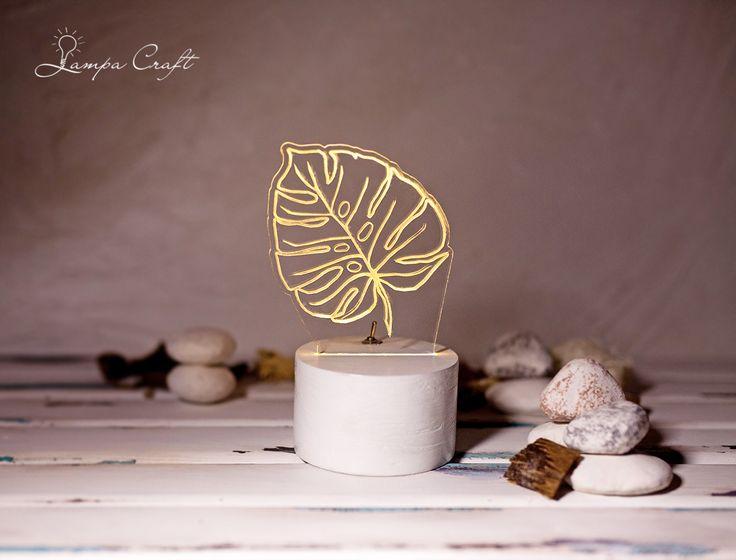 """Светильник Lampa Craft """"Лист"""" Светильник """"Лист"""". Простой лаконичный дизайн впишется в любое пространство.Работает от 2-х батареек АА, входят в комплект. Свечение-теплый белый (по вашему желанию можно сделать цветное свечение: синий, холодный белый, желтый, розовый, зеленый) Цвет подставки-белый или любой цвет по вашему желанию http://www.lampacraft.ru/houm_lampa #именнойсветильник #ночник #ночникиздерева #домашнийдекор #декориздерева #светодиодныйсветильник #ручнаяработа"""