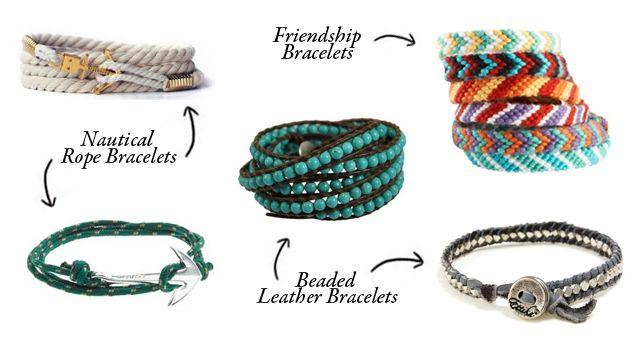 fashion blogger uomo, fashion blogger uomo roma, hobby, bracciali uomo, handmade, tutorial, fai da te, beaded leather bracelet, nautical rope bracelet, heart friendship bracelet