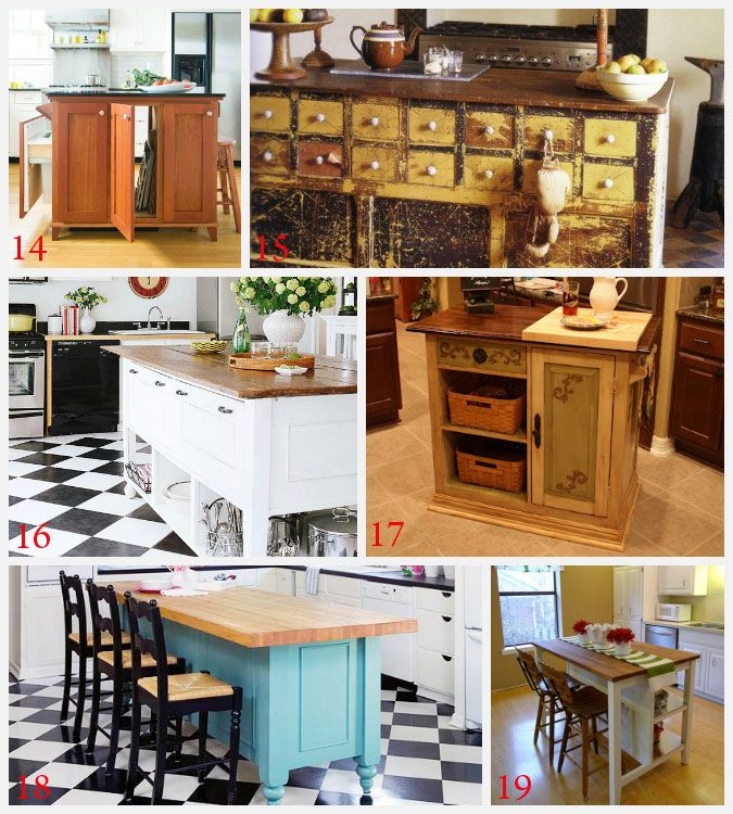 Kitchen Island Designs Diy: 25+ Best Ideas About Homemade Kitchen Island On Pinterest