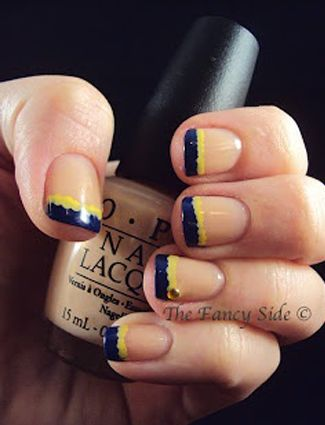 French Mani Makeover: 14 Must-See Updated Versions From Pinterest - Daily Makeover