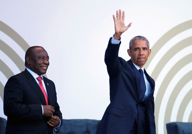 Obama Speech in South Africa Warns Against Rise of Strongman Politics