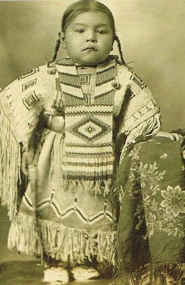 Native American toddler
