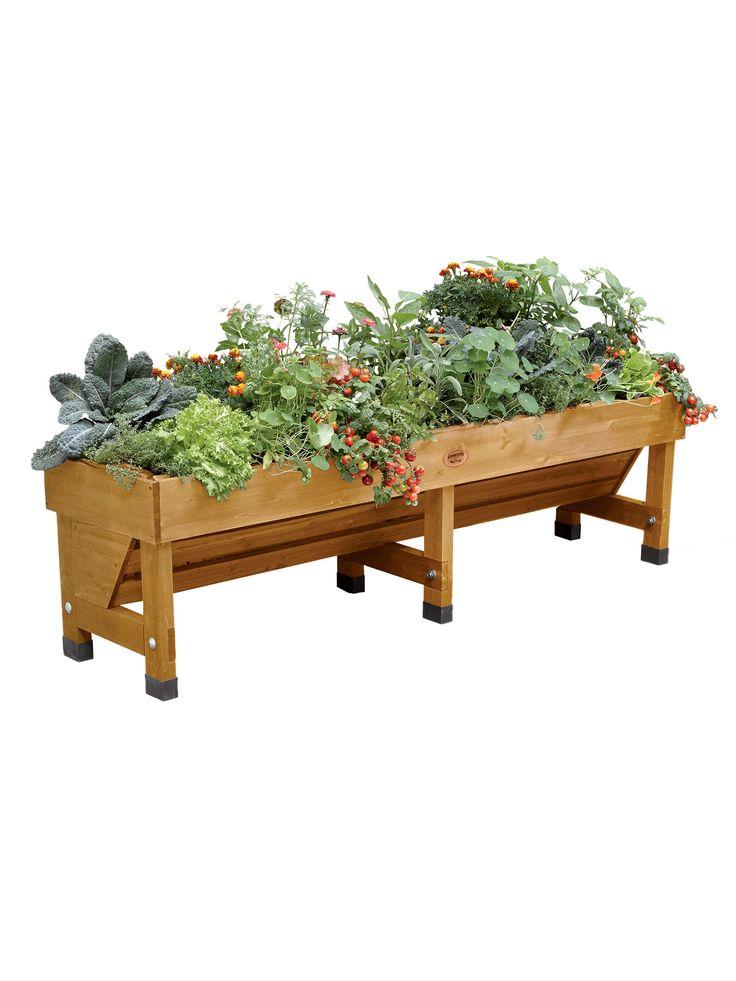 Trough VegTrug 18u0027x72u0027 | Raised Planter Bed | Gardeneru0027s Supply