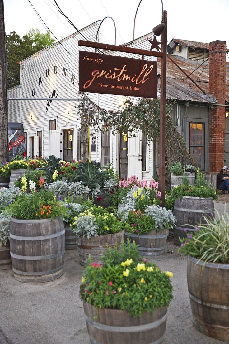 Gristmill River Restaurant and Barcountryliving
