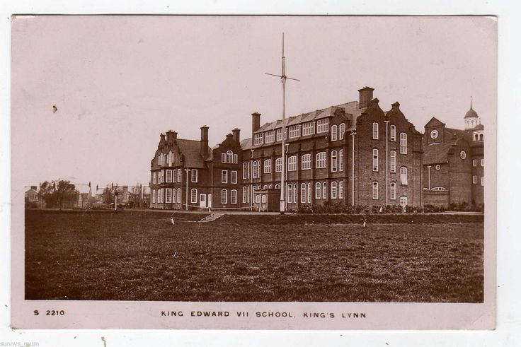 NORFOLK, KING'S LYNN, KING EDWARD VII SCHOOL, RP | eBay