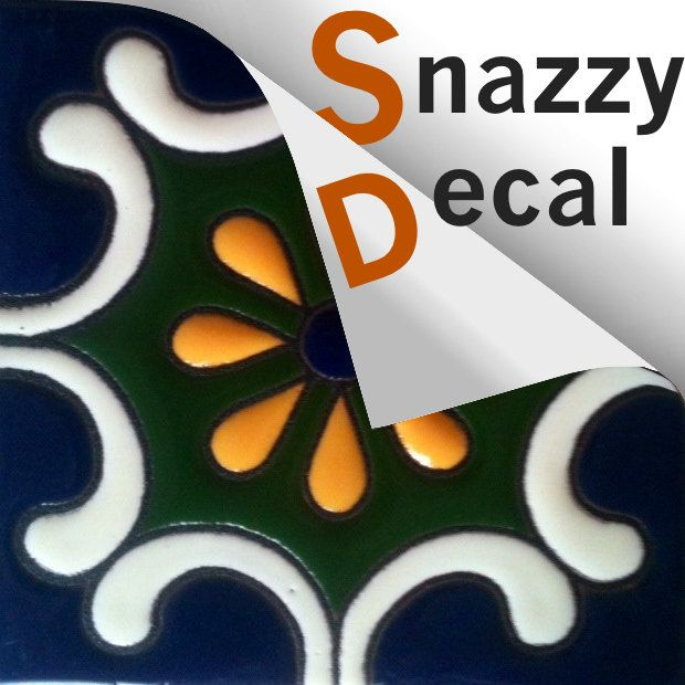 No messy grouting or renovation, peel and stick a tile decal for a stylish makeover for kitchen backsplash or bathroom wall. WATERPROOF, SCRATCH