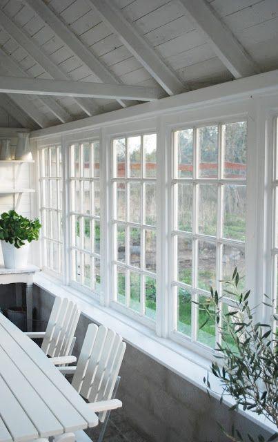 Julias Vita Drömmar: Växthus~ windows