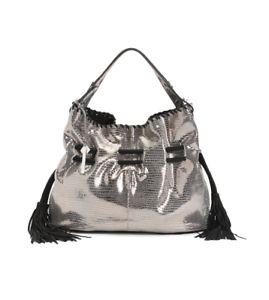 GIORGIA MILANI Women's Made In Italy Leather Hobo Handbag Free Shipping NWT  | eBay