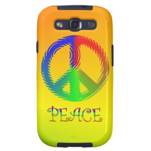 Peace Sign Samsung Galaxy S3 Case