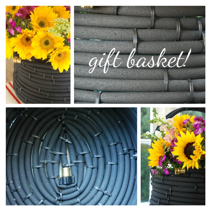 this american home simple giving diy hose basket