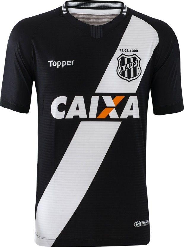 1df78e7919630 Ponte Preta 18/19 away | kits / clubs | Futebol, Times europeus e Preto