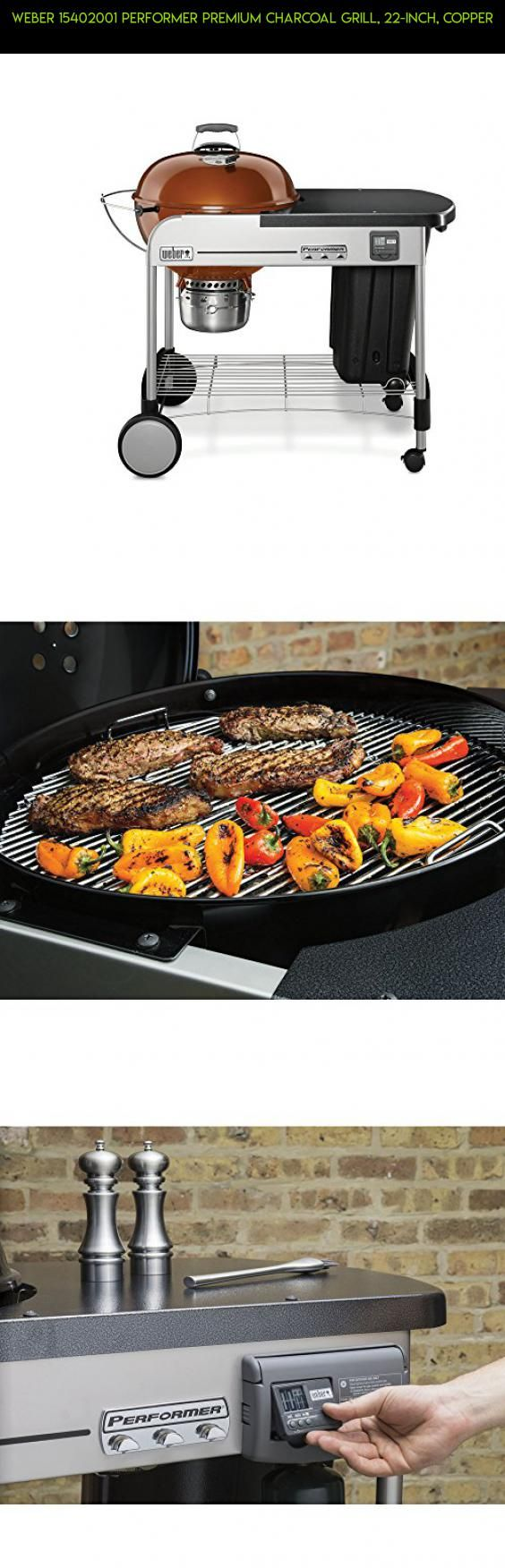 Weber 15402001 Performer Premium Charcoal Grill, 22-Inch, Copper #camera #parts #weber #fpv #racing #drone #kit #gadgets #charcoal #products #shopping #grills #technology #tech #plans