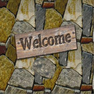 Taşlı Welcome Kapı Paspası