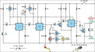 Image result for circuit diagram of stopwatch